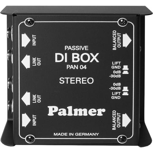 Palmer PAN 04 PRO Stereo DI Box