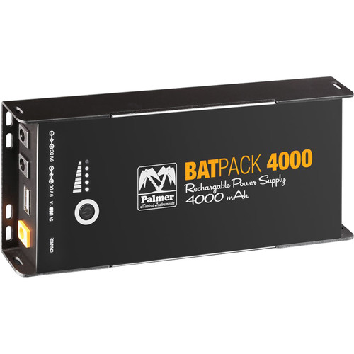 Palmer BATPACK 4000 Rechargeable Pedalboard Power Supply (4000mAh)