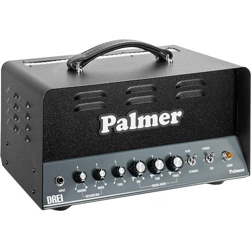Palmer DREI Triple Single-Ended Guitar Amplifier Head