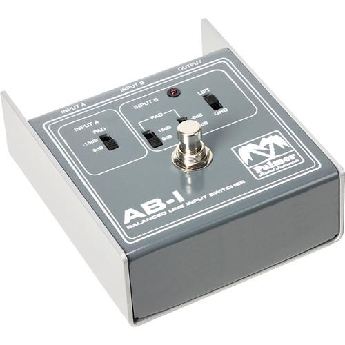Palmer ABI Balanced Line Input Switcher