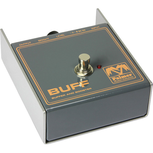 Palmer PEBUFF Buffer and Booster - Preamp for Electric Instruments