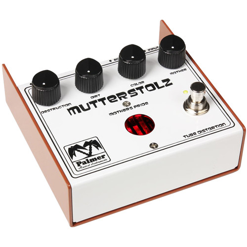 Palmer PEMUTT Mutterstolz Tube Distortion Guitar Effects Pedal