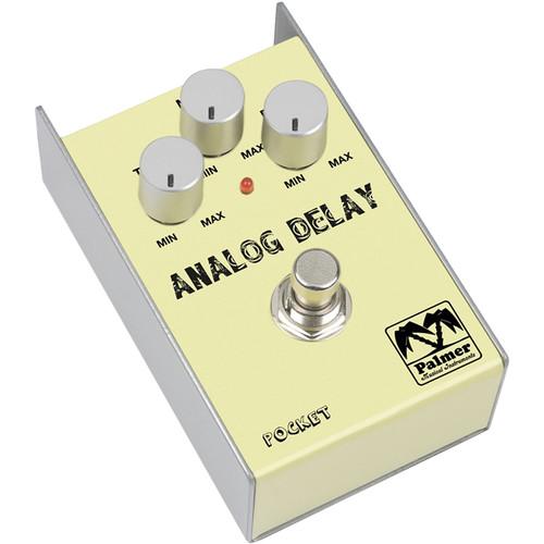 Palmer PEPDEL Pocket Analog Delay Effect Pedal for Guitar