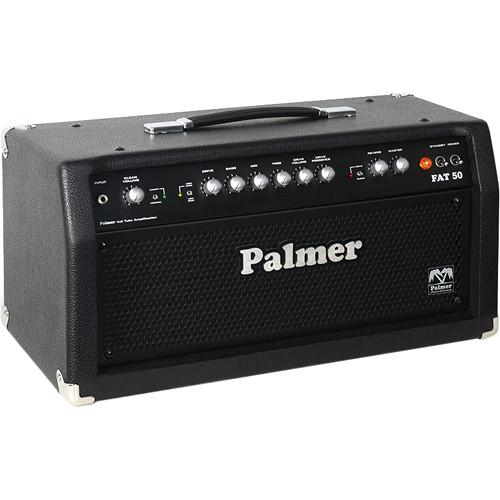 Palmer FAT50H 50W Tube Guitar Amplifier Head