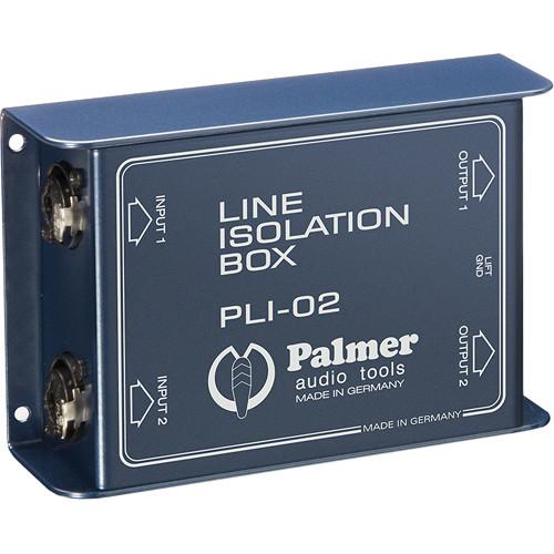 Palmer PLI02 Line Isolation Box (2 Channels)