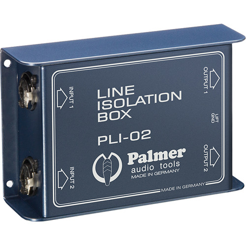 Palmer PLI02 Line Isolation Box (2 Channels)