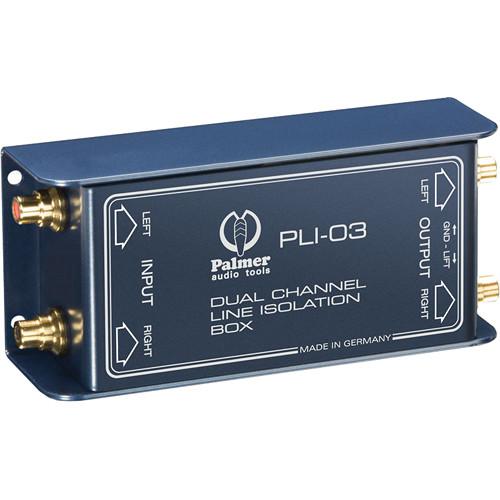 Palmer PLI03 Line Isolation Box (2 Channels)
