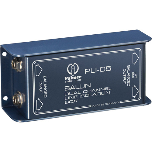 Palmer PLI05 Line Isolation Box (2 Channels)