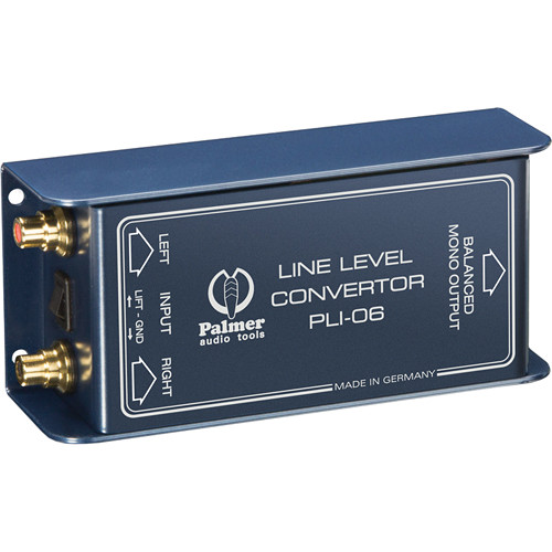 Palmer PLI06 Line-Level Converter (2 In, 1 Out)