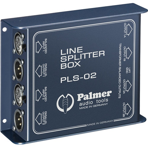 Palmer PLS02 Dual Channel Line Splitter