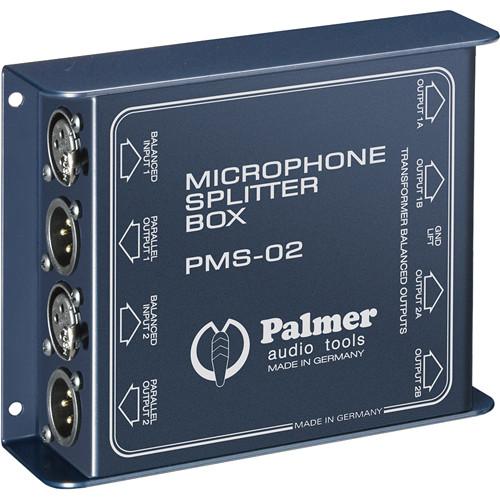 Palmer PMS02 Dual Channel Microphone Splitter