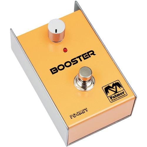 Palmer PEPBOOST Pocket Booster Effect Pedal for Guitar