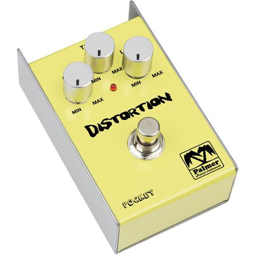 Palmer PEPDIS Pocket Distortion Effect Pedal for Guitar