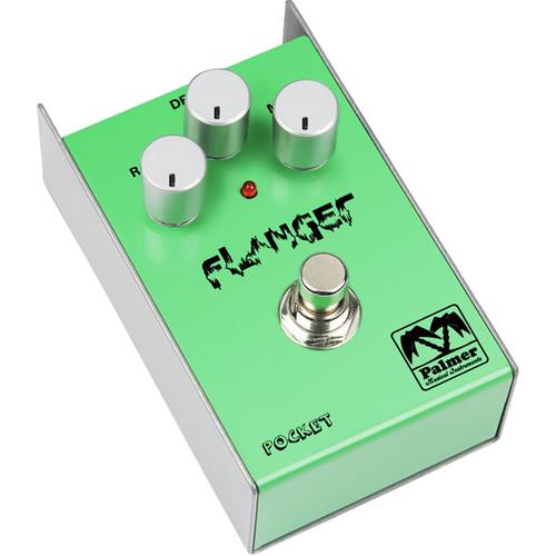 Palmer PEPFLA Pocket Flanger Effect Pedal for Guitar