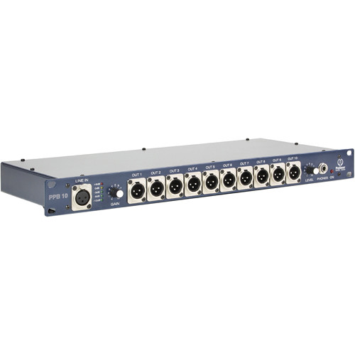 Palmer PPB10 Press Patch Box (10-Channel)