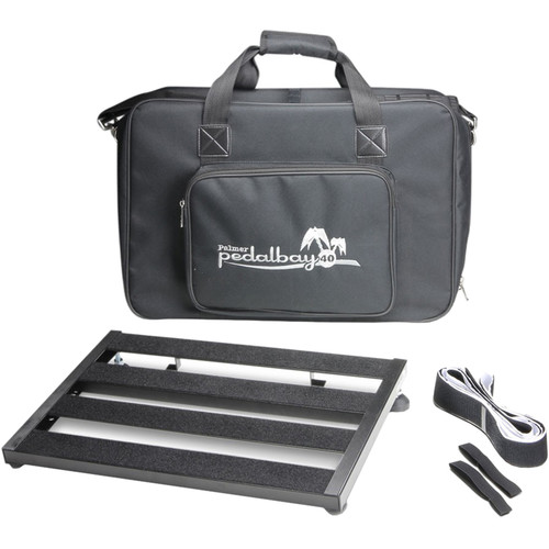 "Palmer Pedal Bay 40 Pedalboard with Soft Carrying Case (17.7 x 12"")"