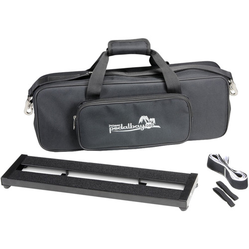 "Palmer Pedal Bay 50S Pedalboard with Soft Carrying Case (19.7 x 5.3"")"