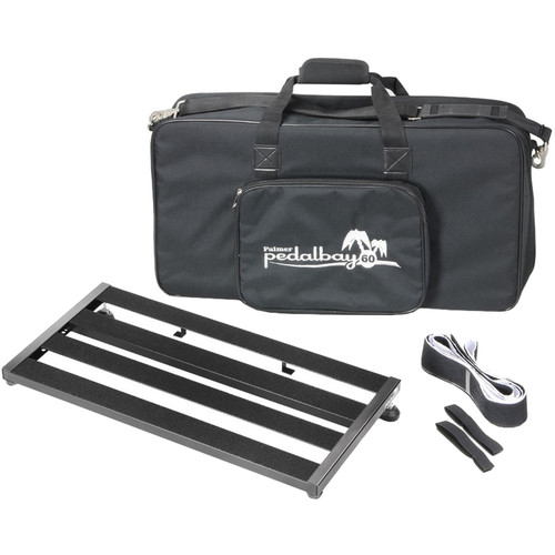 "Palmer Pedal Bay 60 Pedalboard with Soft Carrying Case (23.8 x 12"")"