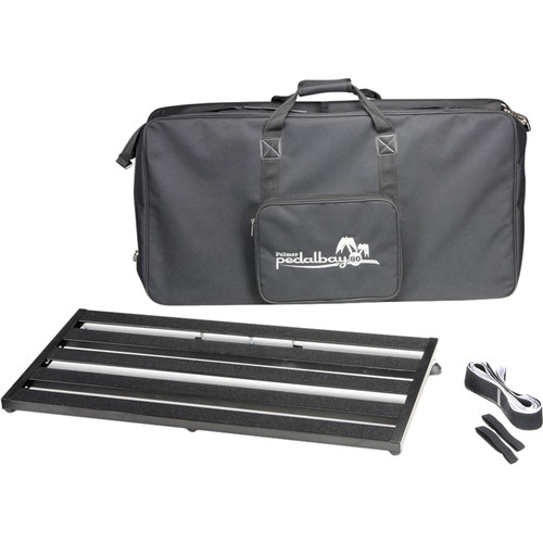 "Palmer Pedal Bay 80 Pedalboard with Soft Carrying Case (31.5 x 15.4"")"