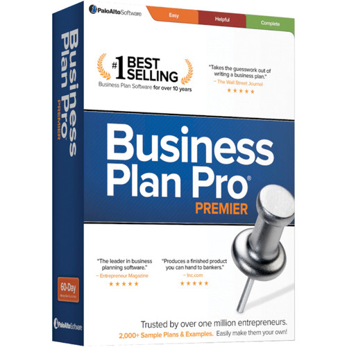 Palo Alto Software Business Plan Pro Premier 12 (Download)