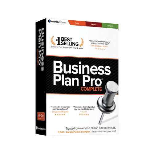 Palo Alto Software Business Plan Pro 12 (Download)
