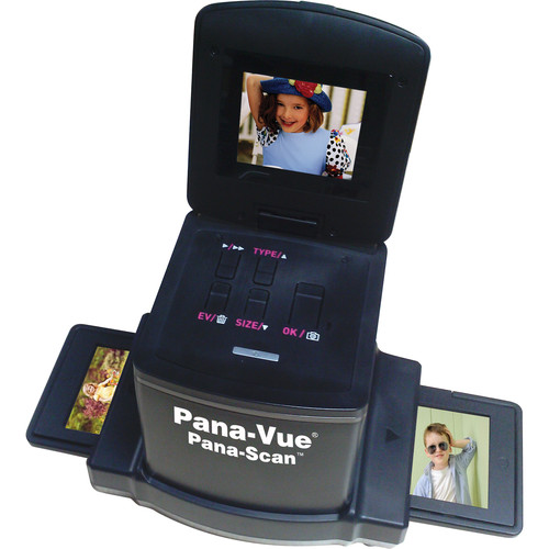 Pana-Vue Pana-Scan 120 Transparency & Film Scanner