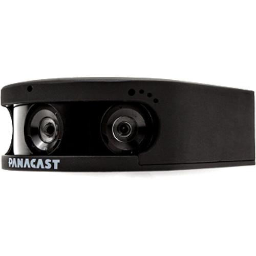 PanaCast 2 Camera Only with Power Adapter Cord and USB-3.0 Cable (Black)