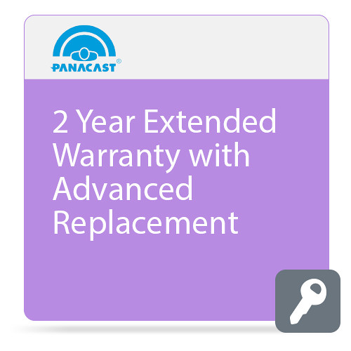 PanaCast 2-Year Extended Warranty with Advanced Replacement for PanaCast 2 Camera