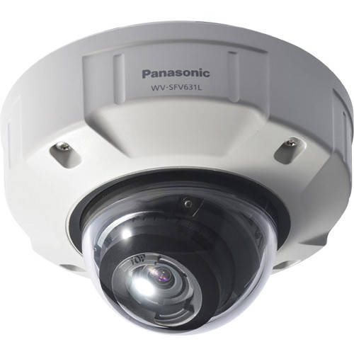 Panasonic Super Dynamic 1080p Indoor/Outdoor Dome Network Camera with 2.8 - 10mm Lens (Light Gray)
