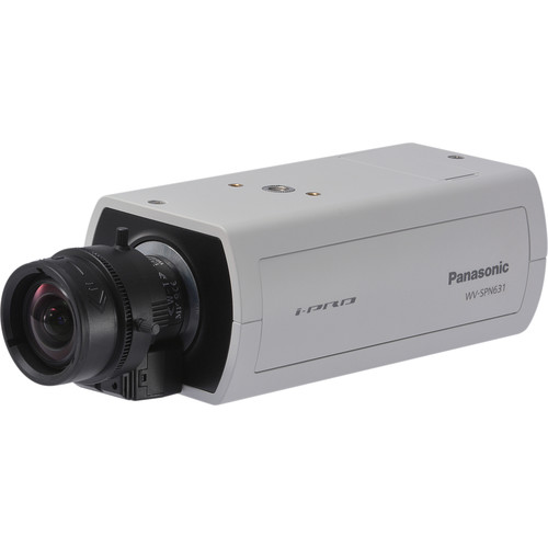 Panasonic 6 Series WV-SPN631 1080p Indoor Day/Night PoE Network Box Camera (No Lens, Sail White)