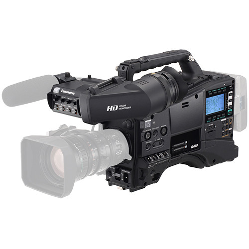 Panasonic AG-HPX600 P2 HD Camcorder with AG-CVF10 Color Viewfinder