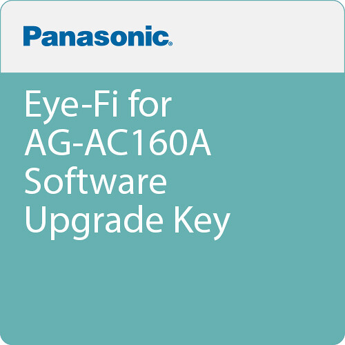 Panasonic Eye-Fi for AG-AC160A Software Upgrade Key