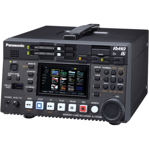 Panasonic AJ-PD500 AVC-ULTRA P2 Recorder