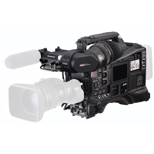 "Panasonic AJ-PX5000G 2/3"" ENG Style Camcorder with P2 & microP2 Media Card Slots"
