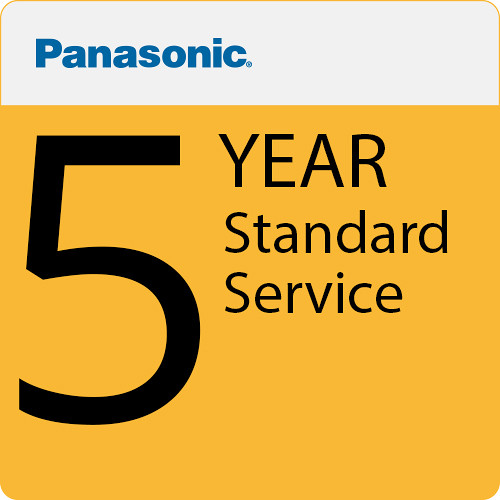Panasonic AJ-SVCPREM4 Premium Service & Support for Select Professional Video Products