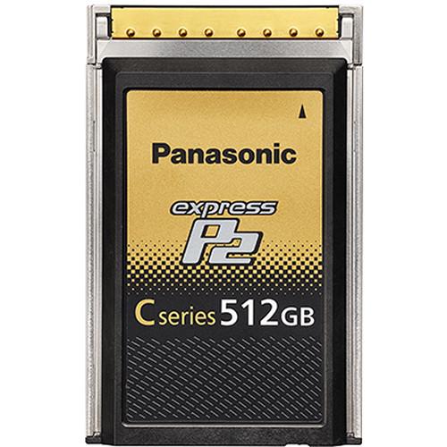 Panasonic 512GB C-Series expressP2 Memory Card