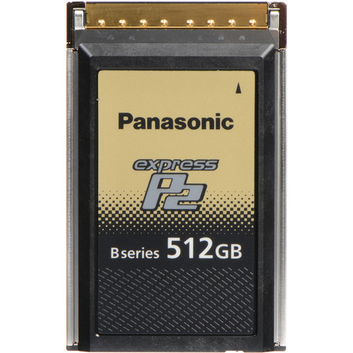 Panasonic 512GB B Series expressP2 Memory Card for VariCam Series