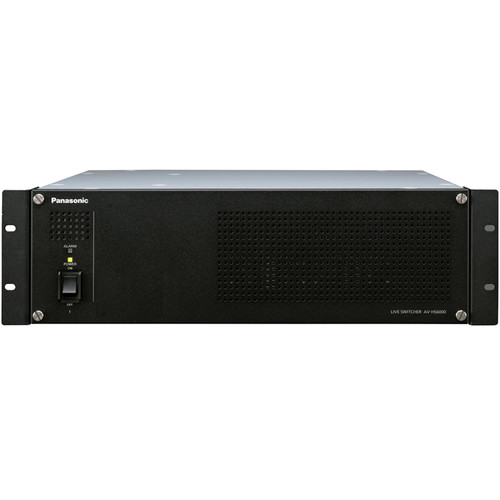 Panasonic AV-HS60U1P Main Frame w/ Single Power Supply for AV-HS6000 Switcher