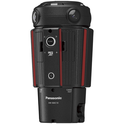 Panasonic 360 Degree Live Camera Head with 4K Output/30p