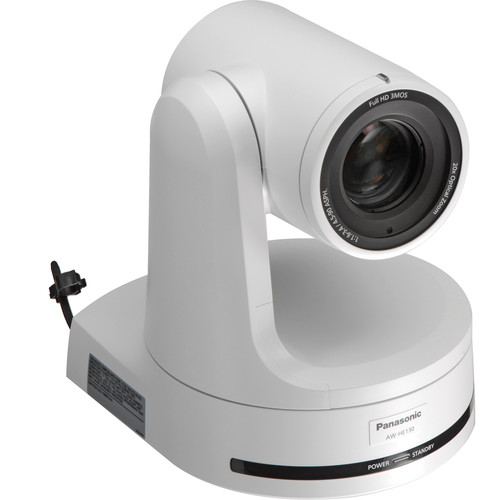 Panasonic AW-HE130 HD Integrated PTZ Camera (White)