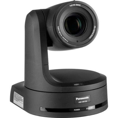 Panasonic AW-HN130 HD Integrated PTZ Camera with NDI|HX (Black)