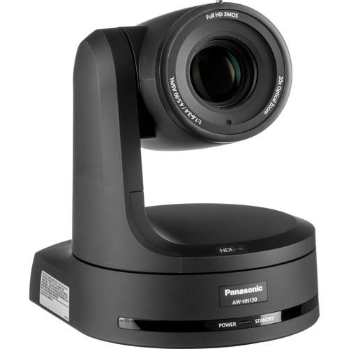 Panasonic AW-HN130 HD Integrated PTZ Camera with NDI HX (Black)