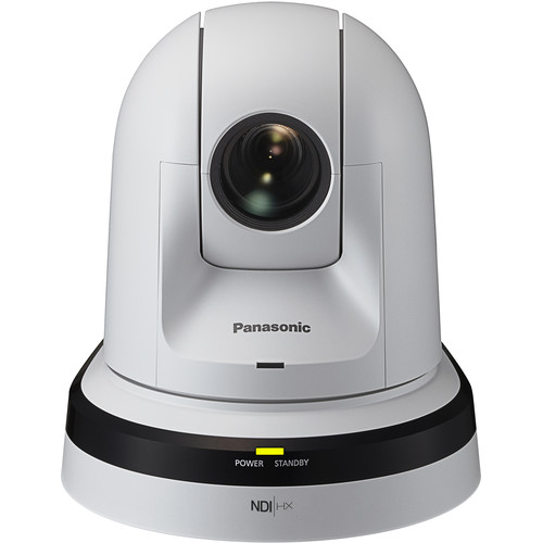 Panasonic 30x Zoom PTZ Camera with HDMI Output and NDI (White)