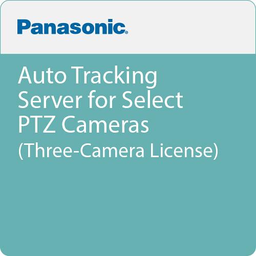 Panasonic Auto Tracking Server for Select PTZ Cameras (Three-Camera License)