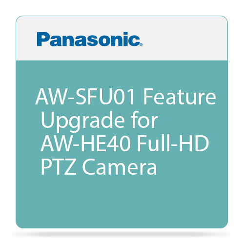 Panasonic AW-SFU01 Feature Upgrade for AW-HE40 Full-HD PTZ Camera