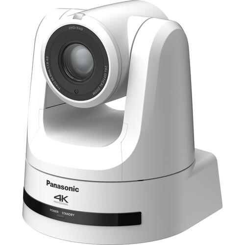 Panasonic 4K NDI Pro 12G-SDI/HDMI PTZ Camera with 24x Optical Zoom (White)