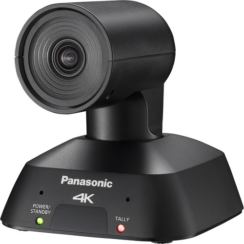 Panasonic AW-UE4KG Compact 4K PTZ Camera with IP Streaming (Black)