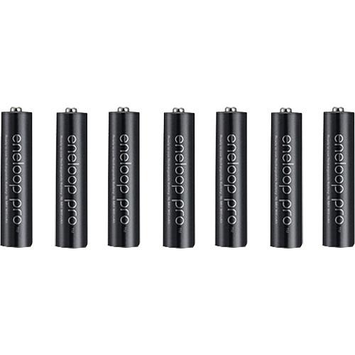 Panasonic Eneloop Pro AAA Rechargeable Ni-MH Batteries (950mAh, 8-Pack)