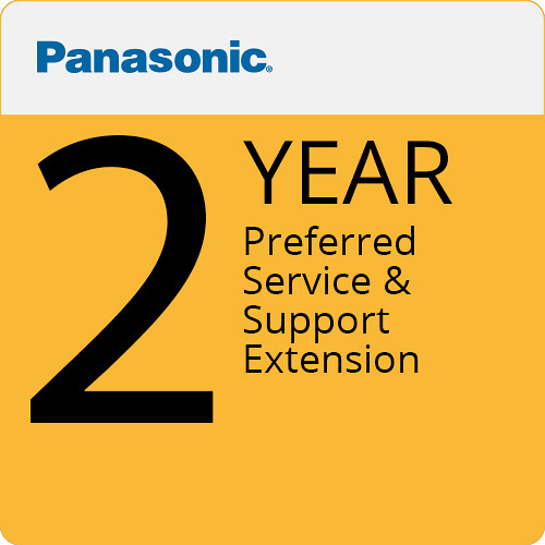 Panasonic 2-Year Preferred Service & Support Extension