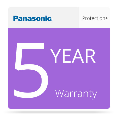 Panasonic 5-Year Protection Plus Warranty for Toughbook and Toughpad